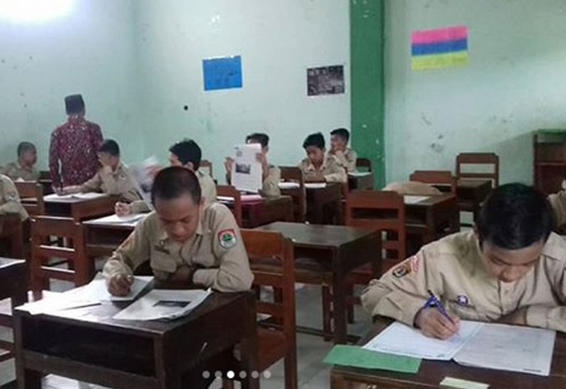 SMPIT SC Adakan Ujian Tengah Semester 2